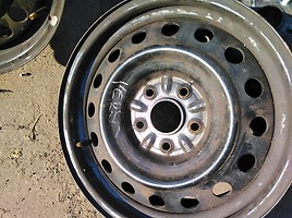 Toyota  Plieniniai štampuoti R16