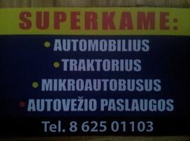 AUTOMOBILIU SUPIRKIMAS
