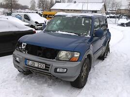 Mitsubishi Pajero III 2003 m. dalys