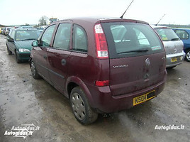 Opel Meriva I 2004 m. dalys