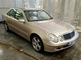 Mercedes-Benz E Klasė   Sedanas
