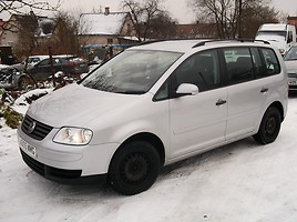 Volkswagen Touran I BRU 2005 y. parts