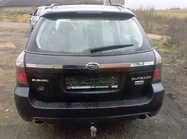 Subaru Outback III 2009 m dalys