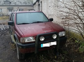 Opel Frontera A 1996 m. dalys