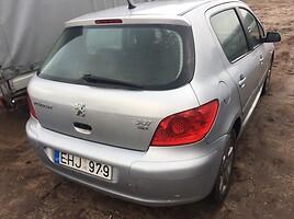 Peugeot 307 I 2002 m. dalys