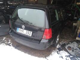 Volkswagen Bora 6 begiu 85kw vokiska 2001 m. dalys
