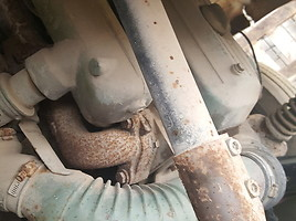 Furgonas, sunkvežimis iki 7,5t.  Mercedes-Benz 813 1982 m dalys