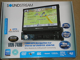 Soundstream vrn-74hb  navi,7""