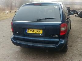 Chrysler Voyager 2002 m dalys