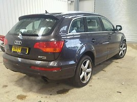 Audi Q7 2008 m. dalys
