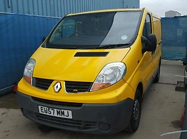 Renault Trafic Krovininis mikroautobusas 2007