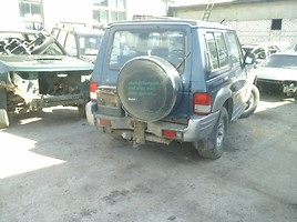 Hyundai Galloper 2000 y. parts