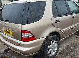 Mercedes-Benz Ml 270 W163 2003 m. dalys