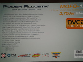 Žemų dažnių garsiakalbis  Power Acoustik MOFO-122X