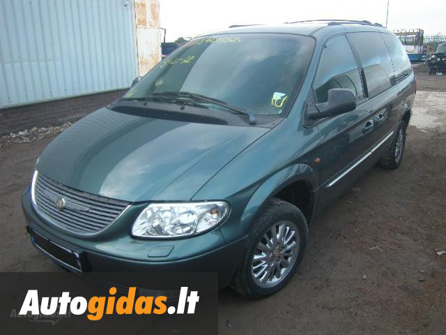 chrysler grand voyager iii crd 2002 m dalys skelbimas autogidas. Black Bedroom Furniture Sets. Home Design Ideas
