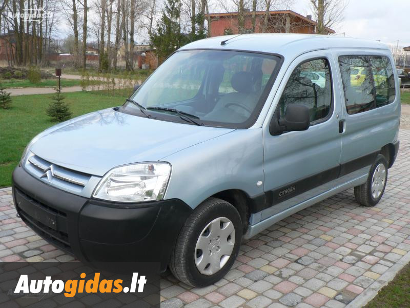 citroen berlingo ii 2005 m dalys skelbimas autogidas. Black Bedroom Furniture Sets. Home Design Ideas