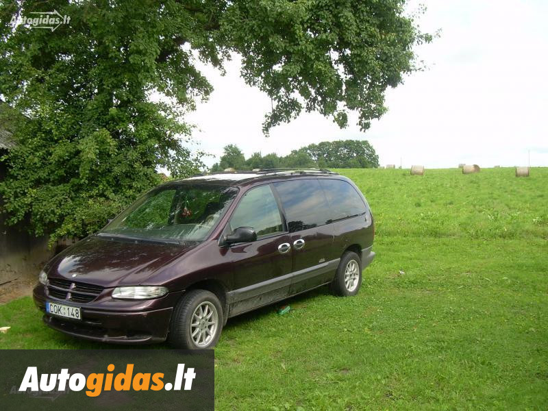 chrysler grand voyager ii 1996 m dalys skelbimas autogidas. Black Bedroom Furniture Sets. Home Design Ideas