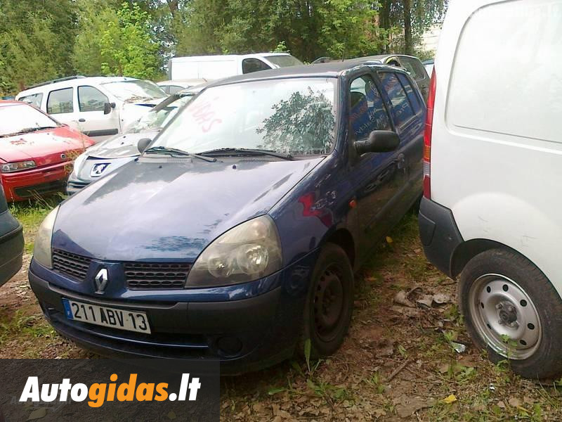 renault clio ii 2003 m dalys skelbimas autogidas. Black Bedroom Furniture Sets. Home Design Ideas