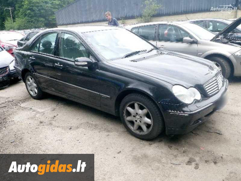 Mercedes benz c 320 w203 2004 y parts advertisement for 2004 mercedes benz c320 parts