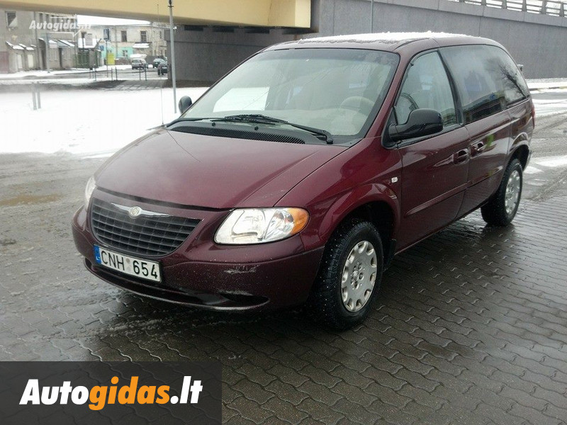 chrysler voyager iii 2003 m dalys skelbimas autogidas. Black Bedroom Furniture Sets. Home Design Ideas
