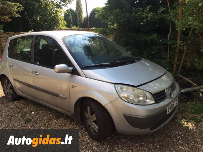 renault scenic ii 2005 m dalys skelbimas 1023244318 autogidas. Black Bedroom Furniture Sets. Home Design Ideas