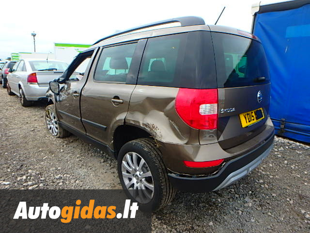 skoda yeti 2015 m dalys skelbimas autogidas. Black Bedroom Furniture Sets. Home Design Ideas