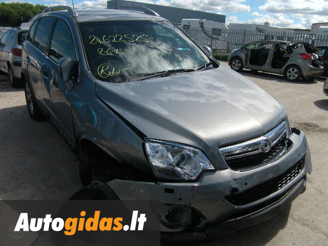 opel antara 2012 m dalys skelbimas 1023332772 autogidas. Black Bedroom Furniture Sets. Home Design Ideas