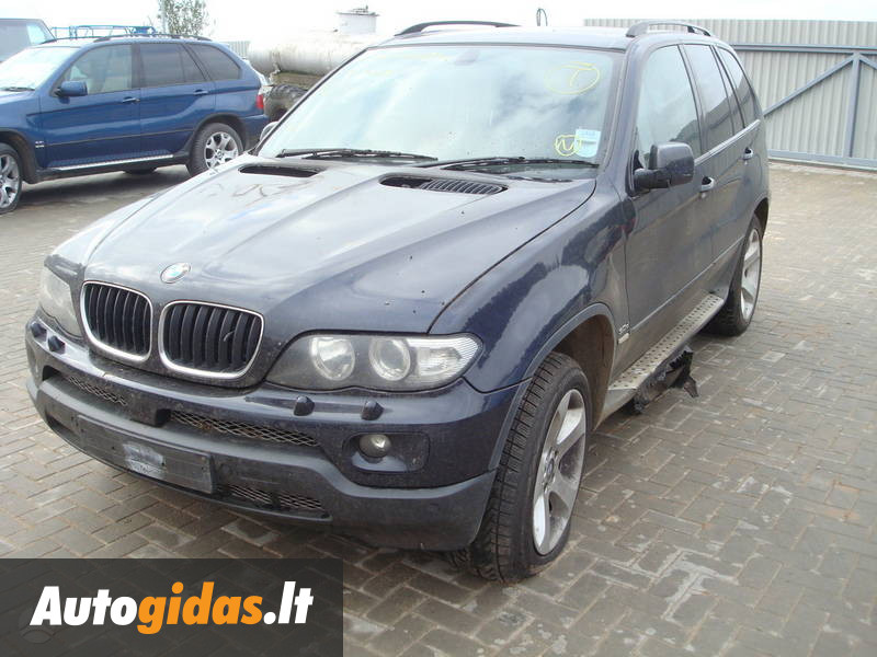 bmw x5 e53 2005 m dalys skelbimas autogidas. Black Bedroom Furniture Sets. Home Design Ideas