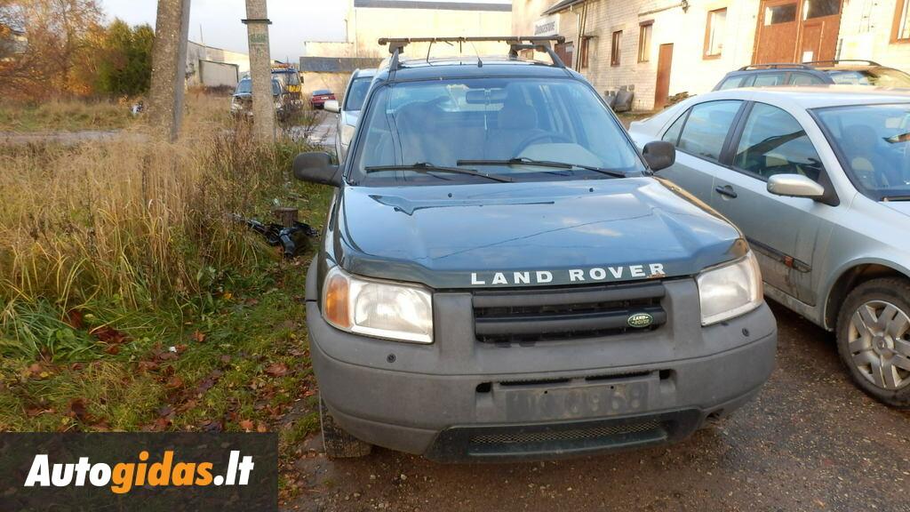land rover freelander i 2001 y parts advertisement. Black Bedroom Furniture Sets. Home Design Ideas