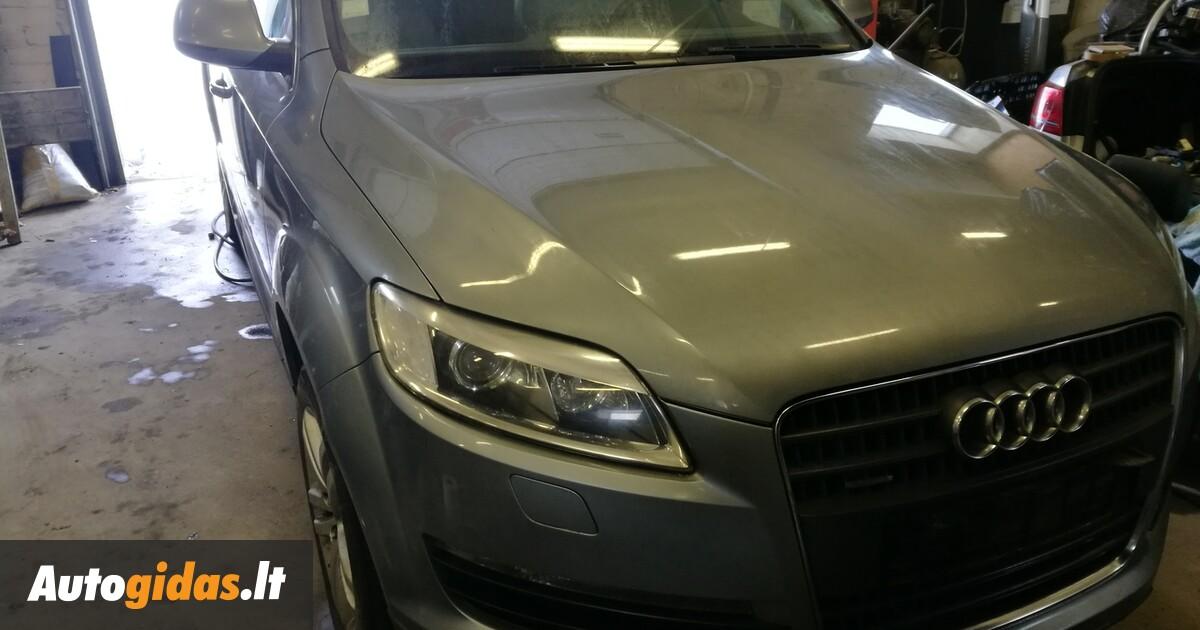 Audi Q7 TDI 2007 y parts | Advertisement | 1023697088