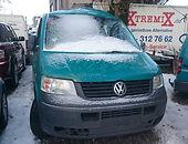 volkswagen transporter t5 Caravelle Keleivinis mikroautobusas 2004