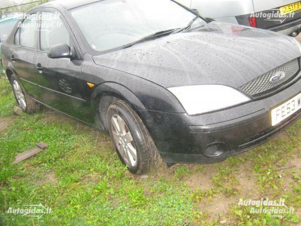 Ford Mondeo MK3 2001 m. dalys