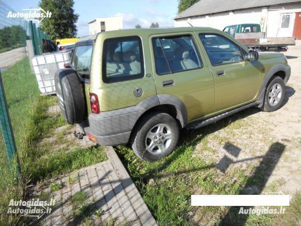 Land-Rover Freelander I 2001 m. dalys