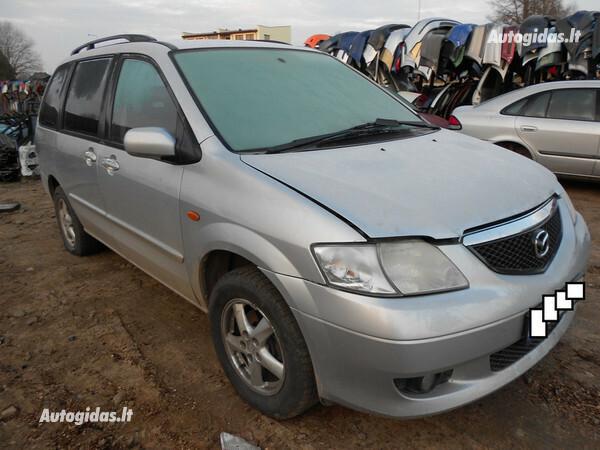 Mazda Mpv 2001 m. dalys