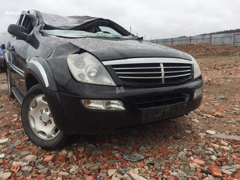 Ssangyong Rexton 2005 y. parts