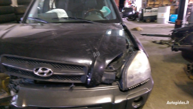 Hyundai Tucson 2005 m. dalys