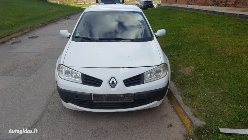 Renault Megane II dCi Conf Authentique 2003 m. dalys