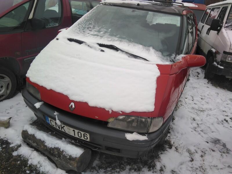 Renault Espace II 1994 m. dalys