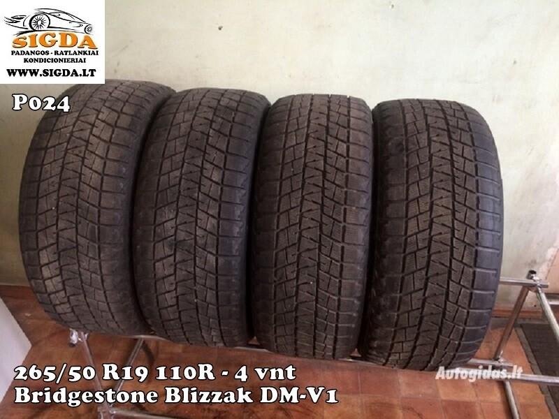 Bridgestone Blizzak DM-V1 R19 зимние покрышки для легковых автомобилей