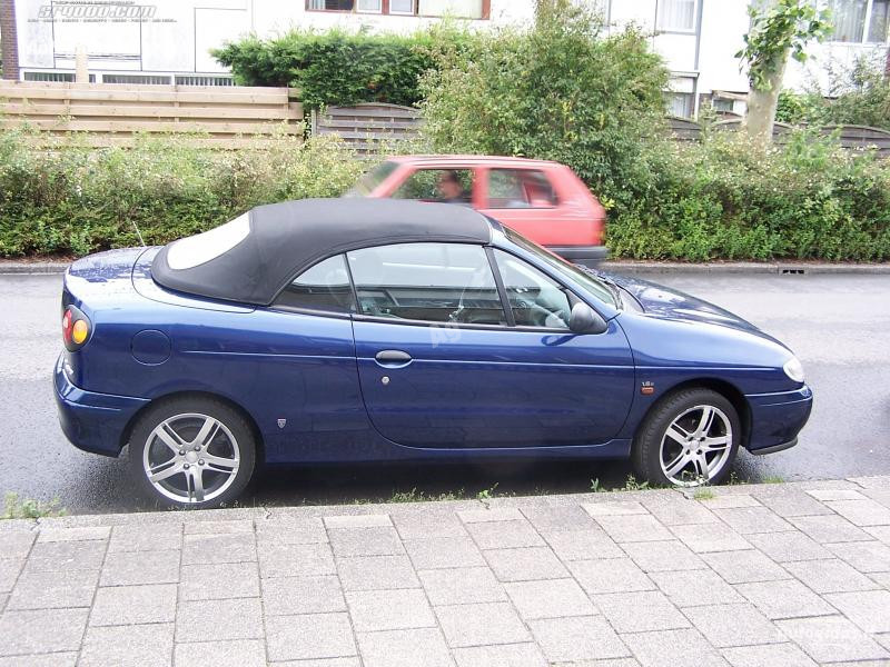 Renault Megane I CABRIOLETAS 1997 m. dalys