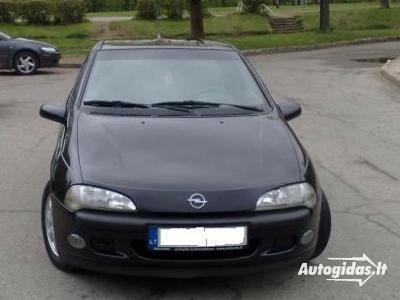 Opel Tigra I 1.4 ir 1,6ecotec 1997 m. dalys