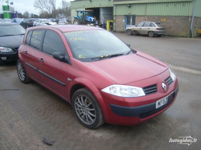 Renault Megane II 2003 y. parts