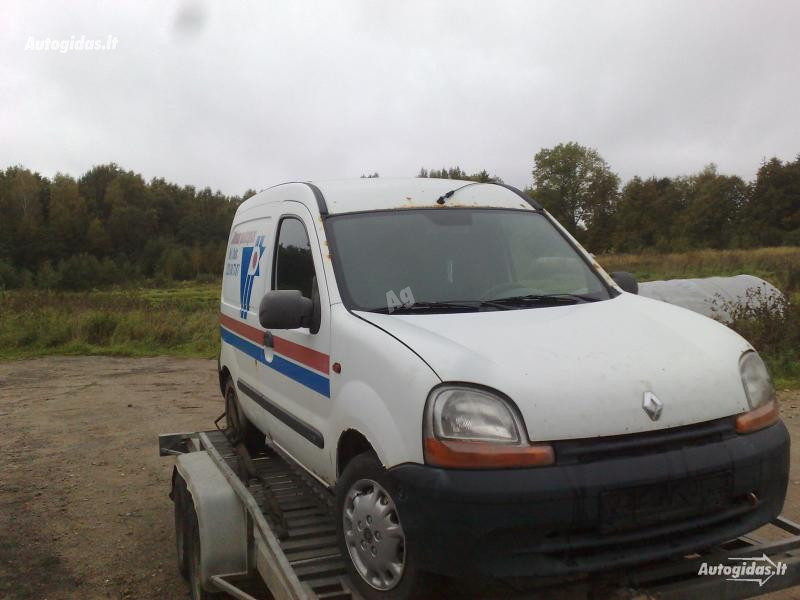 Renault Kangoo I dyzelis benzinas, 1999m.