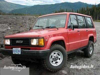 Isuzu Trooper 1987 y. parts