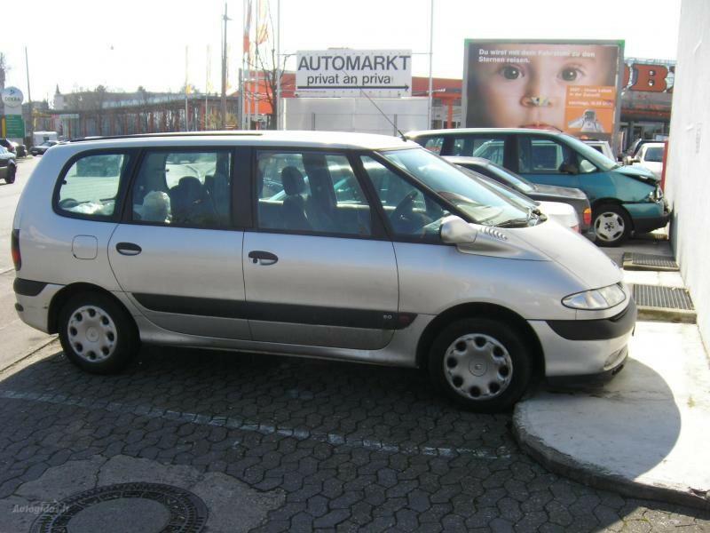 Renault Espace III didelis pasirinkimas, 2002m.