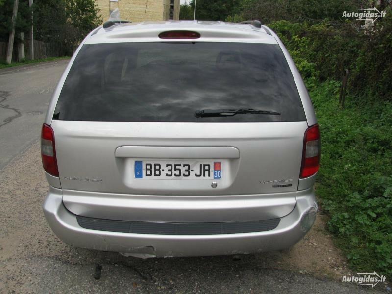 Chrysler Voyager III 2006 y. parts