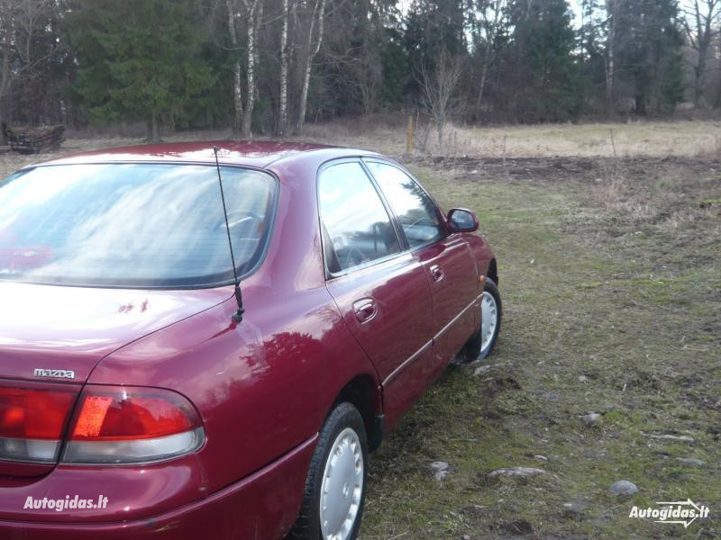Mazda 626 IV 1996 m. dalys