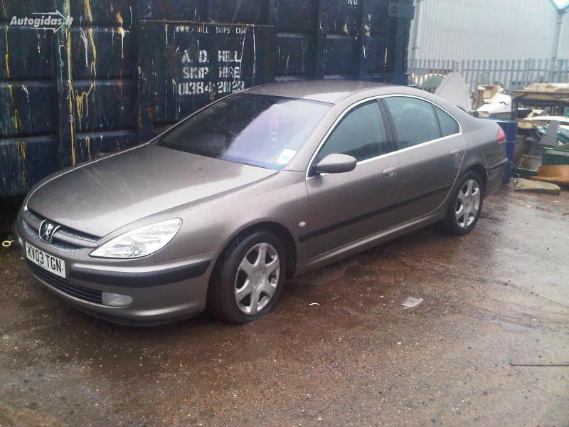 Peugeot 607 2.2hdi automatic 2003 m. dalys
