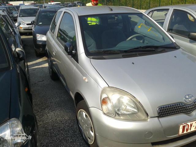 Toyota Yaris I Europa, 2001y.