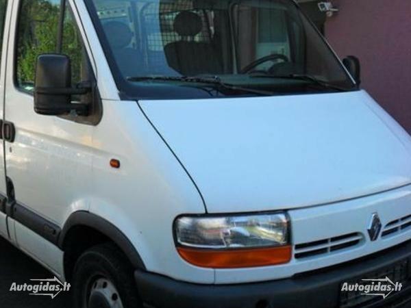 Renault Master II 1999 m. dalys